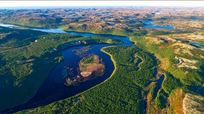 Река Воронья