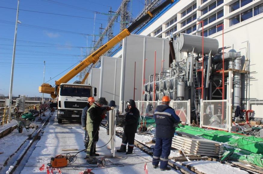 Электростанция на Каме оснащена первым новым трансформатором