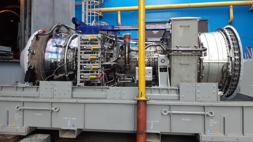 Завершена реконструкция газотурбинной установки Курской ТЭЦ