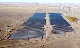 Приступила к работе новая солнечная электростанция «Астерион»
