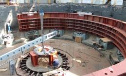 Закончена модернизация девятого гидрогенератора Чебоксарской гидроэлектростанции