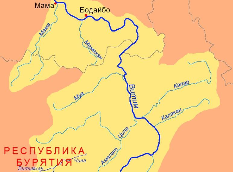 География реки